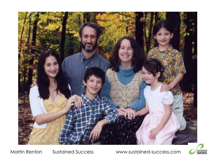 Martin RentonSustained Successwww.sustained-success.com