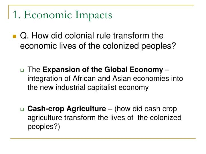 a discussion on the methods of cubas re integration into the global economy Rural household demographics, livelihoods and the environment  rural household demographics, livelihoods and the  lands into peri-urban real estate.