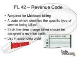 fl 42 revenue code
