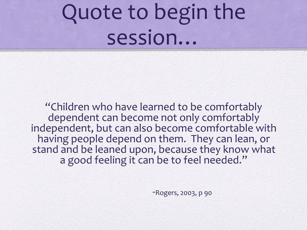 The Importance Of Relationships Within Early Learning