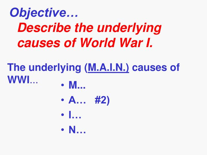 """what was the underlying cause of world war 1 essay  causes of world war ii essay- farnosh sayed """"a war to end all wars"""" was a term used in world war i but unfortunately it planted the roots for world war ii in 1939 hundreds of little problems led up to what the world knows as the one of the most deadly of all wars."""