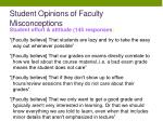 student opinions of faculty misconceptions3