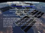 video bill nye demonstrates distance between planets http www youtube com watch v 97ob0xr0ut8