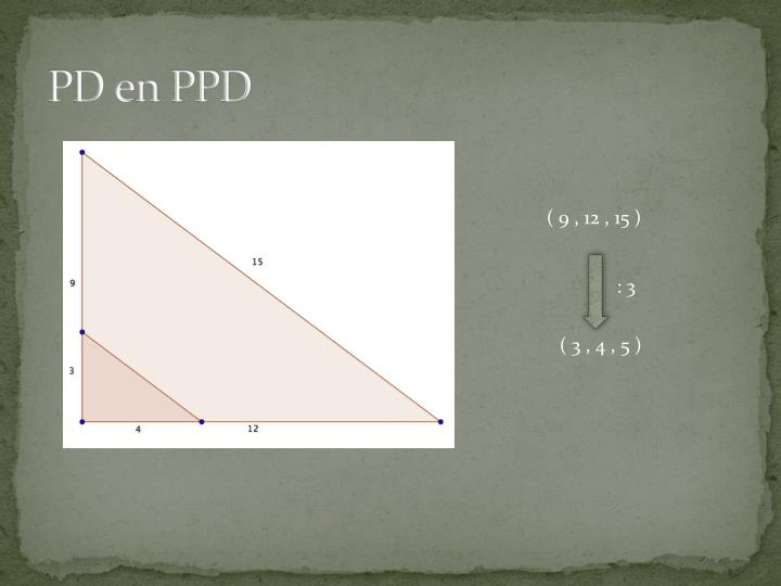 PD en PPD
