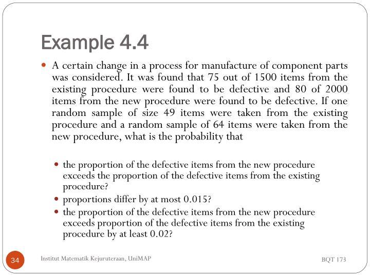 Example 4.4