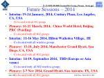 future sessions 2014