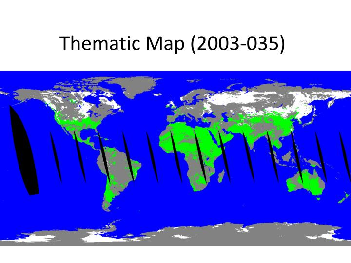 Thematic Map (2003-035)