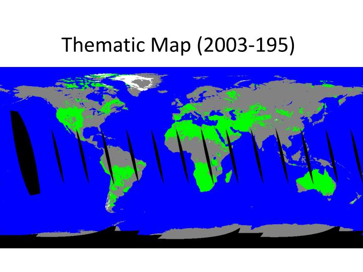 Thematic Map (2003-195)