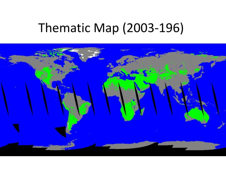 Thematic Map (2003-196)