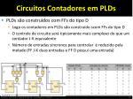 circuitos contadores em plds