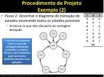 procedimento de projeto exemplo 2