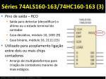 s ries 74als160 163 74hc160 163 3