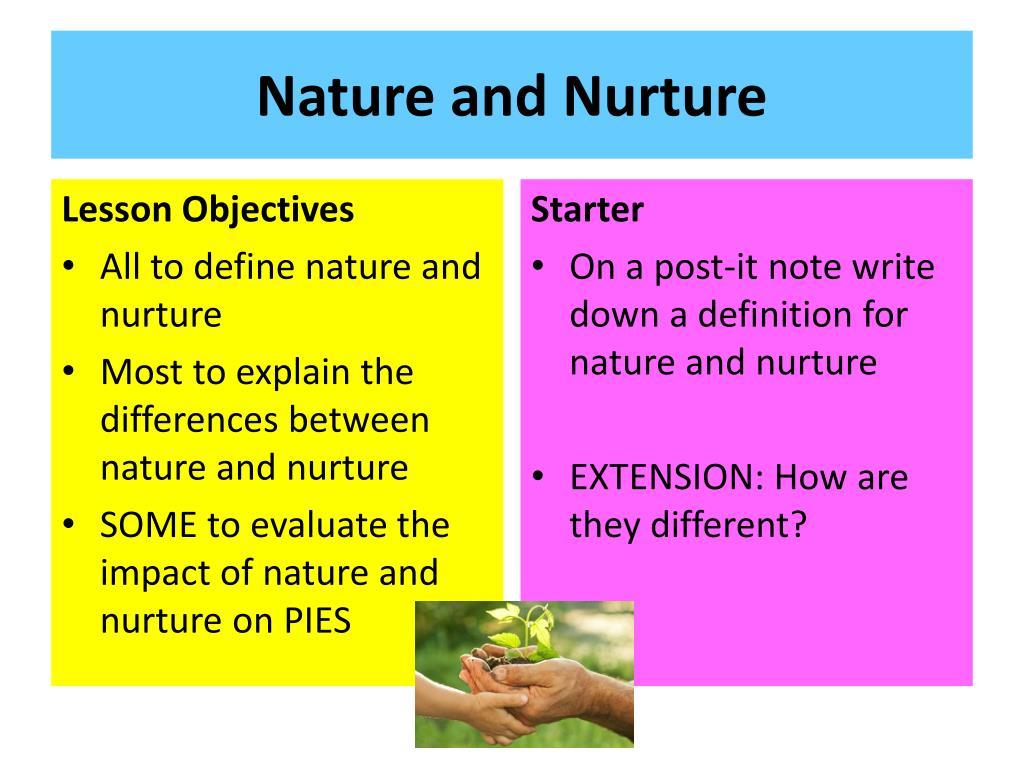 PPT - Nature and Nurture PowerPoint Presentation, free ...