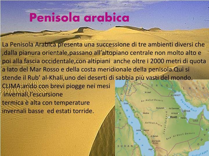 Penisola arabica