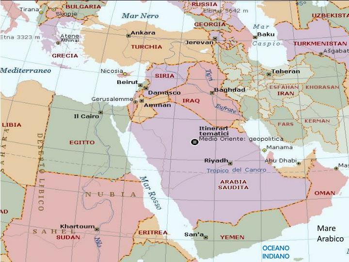 Mare Arabico