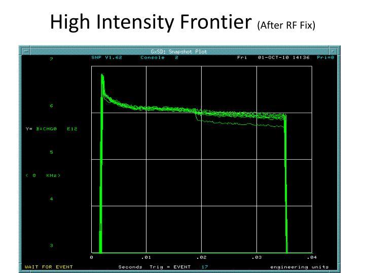 High Intensity Frontier