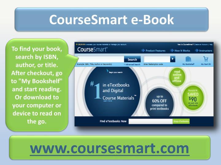 CourseSmart e-Book