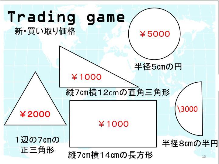 Trading game