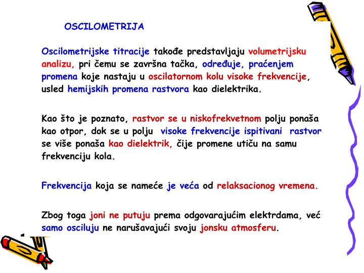 OSCILOMETRIJA