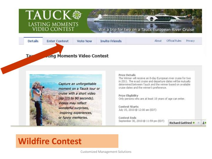 Wildfire Contest