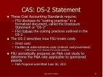cas ds 2 statement