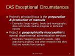 cas exceptional circumstances1