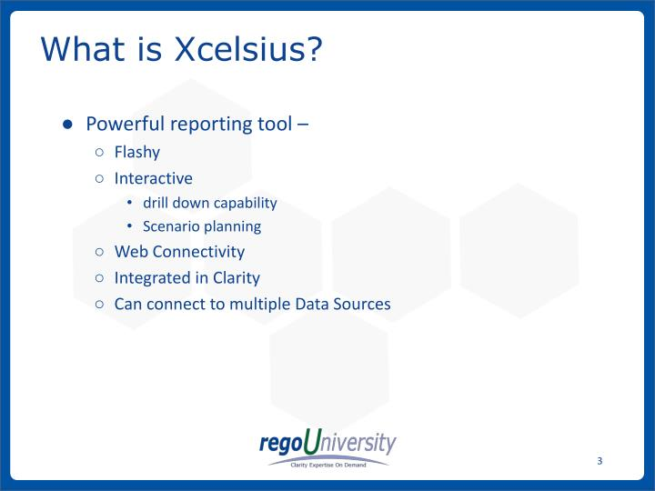 What is xcelsius