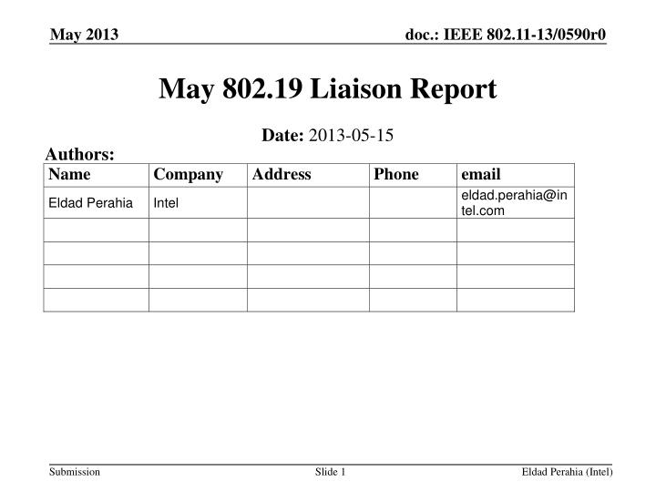 may 802 19 liaison report n.