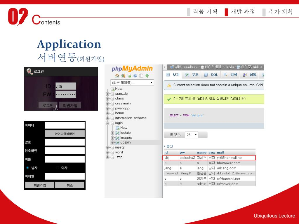 PPT - 6 조 Ubiquitous Lecture PowerPoint Presentation - ID:3187472