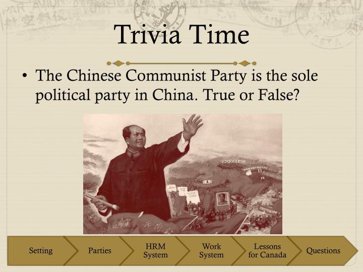 Trivia time2