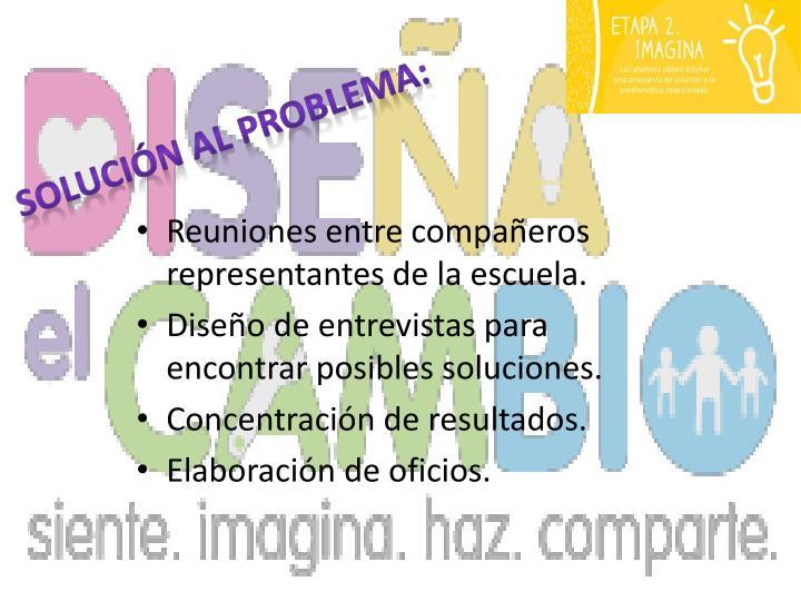 SOLUCIÓN AL PROBLEMA:
