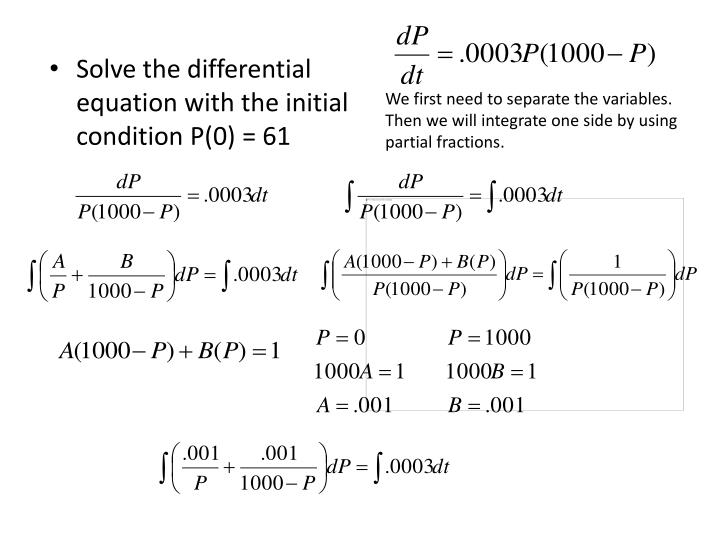 We first need to separate the variables.