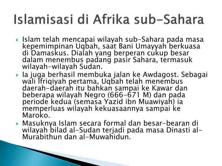 Islamisasi di Afrika sub-Sahara