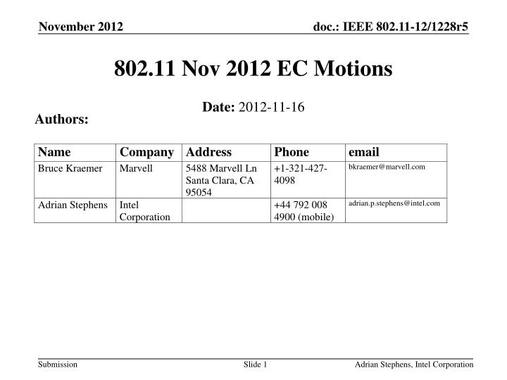 802 11 nov 2012 ec motions