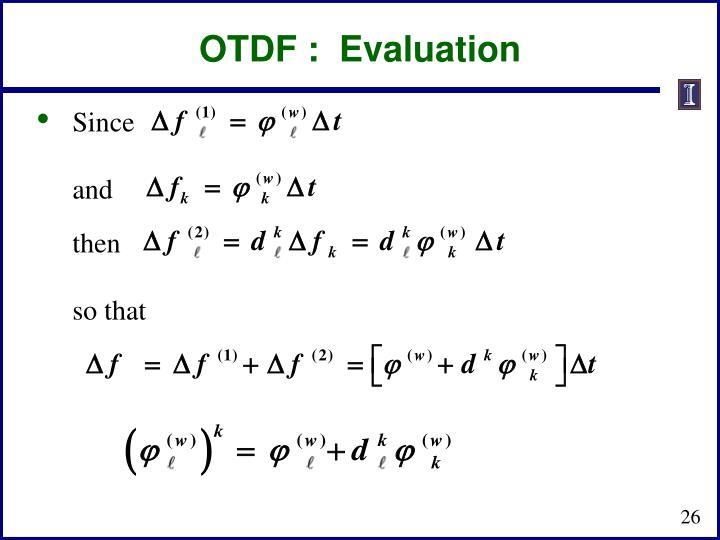 OTDF :
