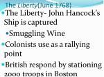 the liberty june 1768