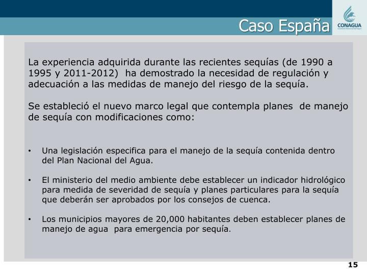 Caso España
