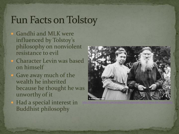 Fun Facts on Tolstoy