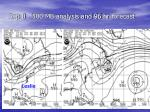 sep 8 500 mb analysis and 96 hr forecast