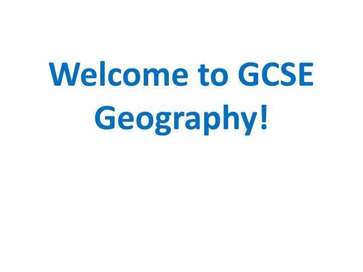 geography gcse settlement coursework Before starting every gcse geographer must do fieldwork in at least two different environments from geographical questions to evaluation, read on for advice if you're not sure where to start.
