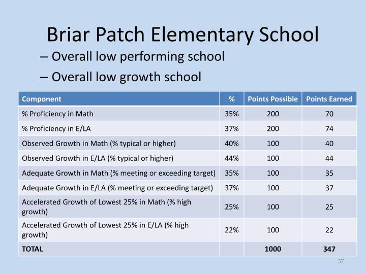 Briar Patch Elementary School