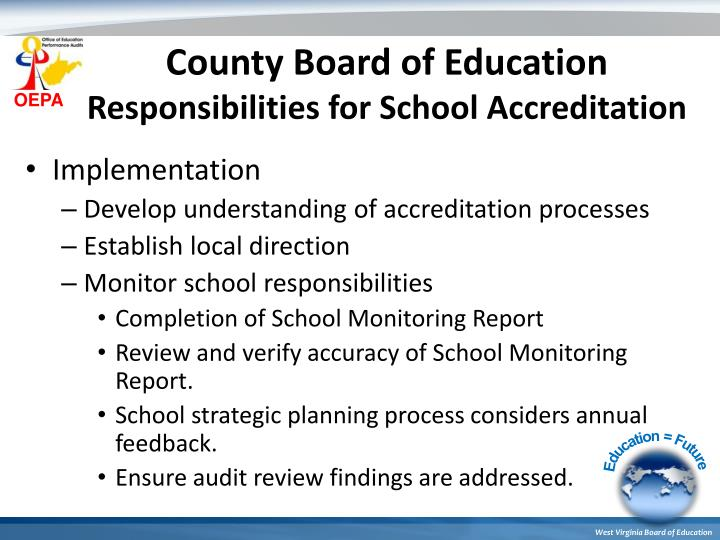 County Board of Education