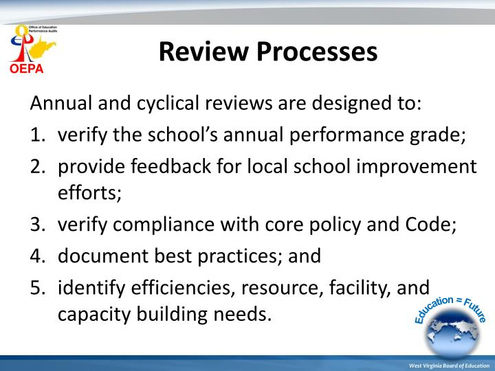 Review Processes