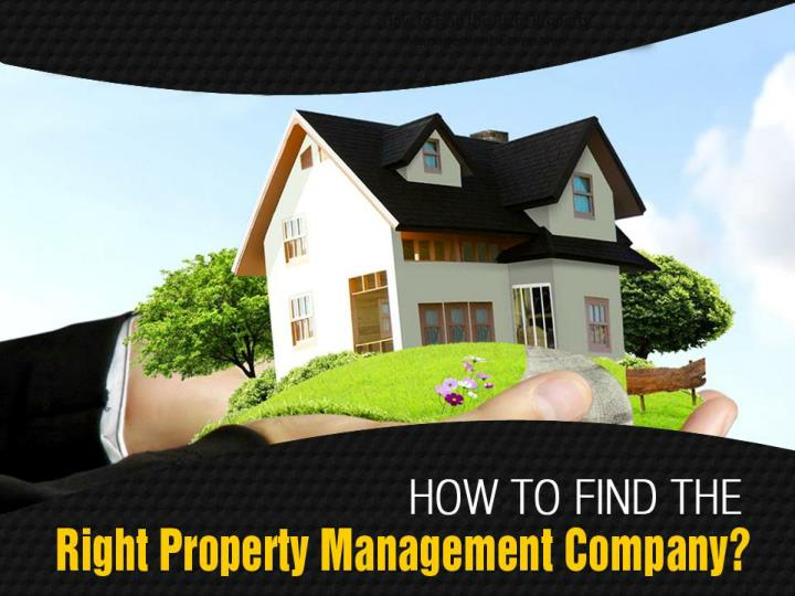 how to find the right property management company n.