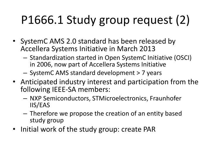 P1666 1 study group request 2