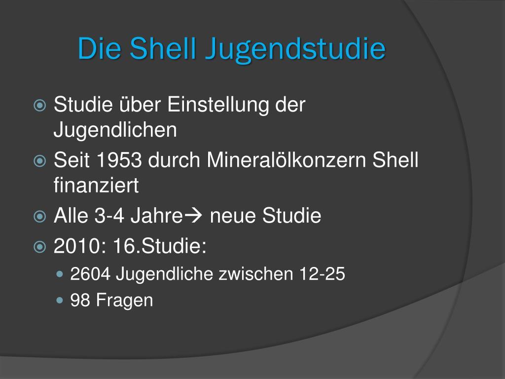 Shell Jugendstudie Fragebogen