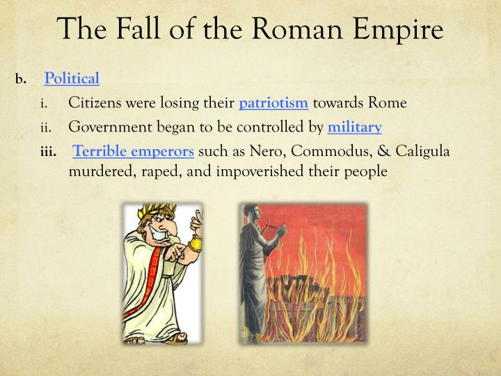 role of christianity in the fall of the roman empire essay As the roman empire got bigger, new lands and people were taken into it, the conquered people added their gods or religions to the roman pantheon 1 christianity had some influence on the decline from this we can deduce that christianity was one of the main factors that contributed to the.