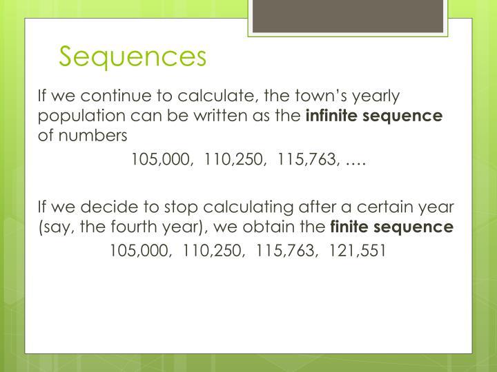 Sequences2