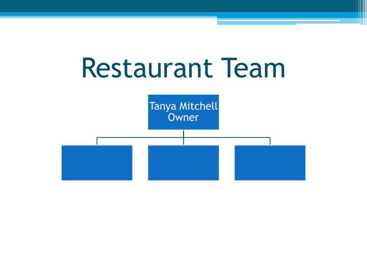 Restaurant Team