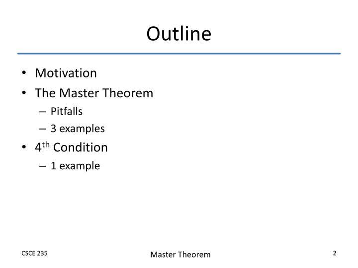 Ppt Master Theorem Powerpoint Presentation Id3194732